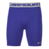 Under Armour Men's Heatgear Compression Shorts – Blue: Image 1