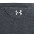 Under Armour Womens Studio Terry Short-Sleeve Sweatshirt - Grey: Image 4