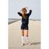OBEY Clothing Women's Never Just Rock N Roll Sweatshirt - Navy: Image 2