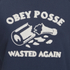 OBEY Clothing Women's Obey Posse Crew Sweatshirt - Navy: Image 4