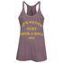 OBEY Clothing Women's Never Just Rock N Roll Danika Tank Top - Dusty Merlot: Image 1