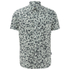 Paul Smith Jeans Men's Classic Fit Short Sleeve Shirt - Green: Image 1