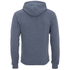 Soul Star Men's Berkley Zip Through Hoody - Airforce Melange: Image 2