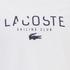 Lacoste Men's Large Logo T-Shirt - White: Image 3