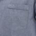 AMI Men's Collar Detail Short Sleeve Shirt - Chambray: Image 3