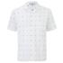 AMI Men's Tailored Collar Short Sleeve Shirt - White: Image 1