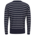 AMI Men's Oversized Crew Neck Sweatshirt - Navy/White: Image 2
