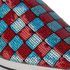 Marc Jacobs Women's Delancey Sequins Embroidered Slip-On Trainers - Aqua/Red: Image 6
