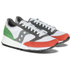 Saucony Men's Jazz 91 Trainers - White/Light Red/Green: Image 3