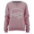 Superdry Women's Chain Stitch Crew Sweatshirt - Rose Twist: Image 1