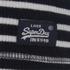Superdry Women's Super Sewn Skinny Rib Layering T-Shirt - Eclipse Navy: Image 3