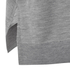Alexander Wang Women's V Neck Tank Dress with Asymmetric Hem - Grey Melange: Image 3