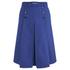 Carven Women's Midi Pleat Skirt - Navy: Image 1
