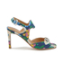 Carven Women's High Floral Sandals - Multi: Image 1