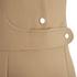 Carven Women's Poppers Shift Dress - Beige: Image 3