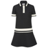 REDValentino Women's Contrast Collar Dress - Black: Image 1