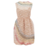 REDValentino Women's Rainbow Lace Dress - Nude: Image 1