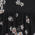 REDValentino Women's Daisy Print High Neck Dress - Black: Image 3