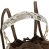 Elizabeth and James Women's Cynnie Sling Bucket Bag - Coco/Multi: Image 3