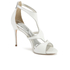 Ted Baker Women's Shyea Leather Strappy Heeled Sandals - Cream: Image 2