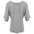 Helmut Lang Women's Wide Sleeve Scoop Top - Medium Heather: Image 2
