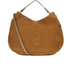 Coccinelle Women's Jessie Suede Hobo Bag - Tan: Image 1