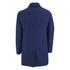 Oliver Spencer Men's Bolt Mac Coat - Lanark Blue: Image 2