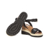 See By Chloé Women's Leather Wedged Sandals - Black: Image 6