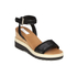 See By Chloé Women's Leather Wedged Sandals - Black: Image 5