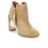 See By Chloé Women's Suede Heeled Ankle Boots - Beige: Image 2