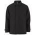 Luke Men's Enforcer Clean Mac Coat - Jet Black: Image 1