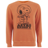 TSPTR Men's Astro Snoopy Crew Neck Sweatshirt - Orange: Image 1
