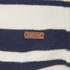 Maison Scotch Women's Breton Stripe 3/4 Sleeve T-Shirt with Zipper at Back - Multi: Image 4