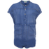 Maison Scotch Women's Short Sleeve Shirt - Blue: Image 1