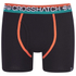 Crosshatch Men's Lightspeed 2-Pack Boxers - Madarin/Black: Image 4