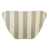 Solid & Striped Women's The Morgan Bikini Bottom - Nude & Cream: Image 2