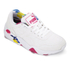 Puma Women's R698 Blur Low Top Trainers - White/Rose Red: Image 2