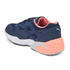 Puma Women's R698 Filtered Low Top Trainers - Peacoat/Pink: Image 5