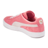 Puma Women's Suede Classic Low Top Trainers - Desert Flower/White: Image 5