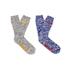Superdry Men's Double Pack Hiker Socks - Mid Grey Twist/Cobalt Blue: Image 1