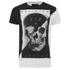 Religion Men's Skull Print Crew Neck T-Shirt - White: Image 1