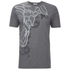 Versace Collection Men's Printed Crew Neck T-Shirt - Grey: Image 1