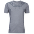 Versace Collection Men's Neck Detail T-Shirt - Grey: Image 1