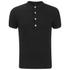 Versus Versace Men's Back Logo Polo Shirt - Black: Image 1