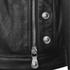 Versus Versace Men's Back Leather Biker Jacket - Black: Image 5
