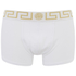 Versace Collection Men's Iconic Low Rise Trunk Boxer Shorts - White: Image 1