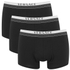 Versace Men's 3 Pack Trunk Boxers - Black: Image 1