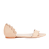 Loeffler Randall Women's Lina Scalloped Sandals - Wheat: Image 1