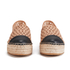 Loeffler Randall Women's Mariko Perforated Flatform Espadrilles - Buff/Black: Image 4