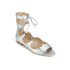 Loeffler Randall Women's Dani Front Tie Sandals - Silver: Image 5